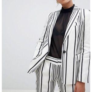 Reiss striped blazer